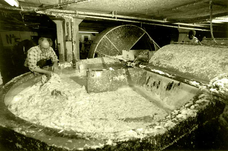 St armand paper makers history for Making paper pulp sculpture